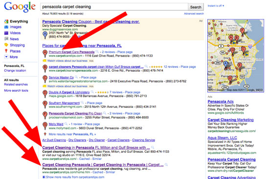 Internet Marketing For Carpet Cleaning Businesses